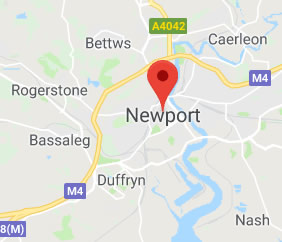 map of Newport